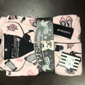 Pj Salvage pajamas girlboss pj set new with tags